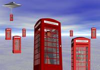Alien London Phone Box Abduction