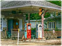 Vintage Gas Pumps in Daytona Beach