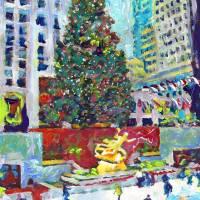 """Ice Rink at Rockefeller Center New York City"" by RDRiccoboni"