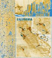 ORL-2605-1 California vintage map