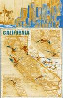ORL-2605-4 California vintage map II