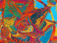 ORL-2673-1 Abstract cactus