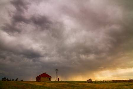 Stormy Skies On The Colorado Plains