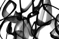 ORL-7131 Abstract Expressionism in Black And White