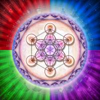 Metatron's Cube - Artwork Sun 2