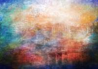 15b Abstract Sunrise Digital Landscape Painting