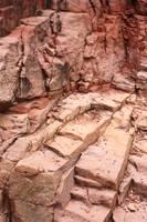 Natural Sandstone Steps in Sedona by Carol Groenen