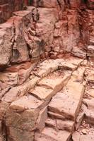 Natural Sandstone Steps in Sedona