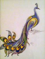 "Stunning ""Peacock"" Colored Pencil Drawings And ..."