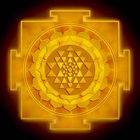 Golden Sri Yantra - Artwork 1