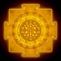 """Golden Sri Yantra - Artwork 1"" by dcz"