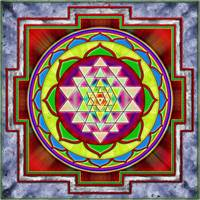 Intuition Sri Yantra - Artwork 1