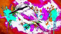 Abstract Bird Art 25