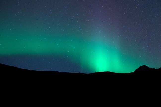 Northern Lights : Vik, Iceland