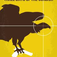 """No659 My Three Days of the Condor minimal movie po"" by Chungkong"