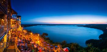 Lake Travis After Dark Pano