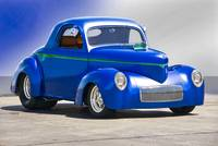 1941 Willys Coupe 'Blue Studio'