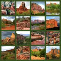 """Sedona Spring Collage"" by Groecar"