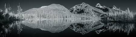 Reflections in Taggart Lake