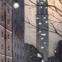 """A New York Evening"" by DaveRheaume"