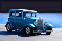 1930 Ford Tudor Sedan 'Blue Studio'