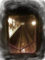 Through The Last Subway Car Window 4