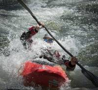 Whitewater Kayaker, South Fork American River