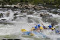 Whitewater Rafting Time Exposure