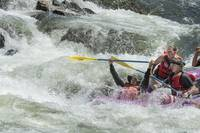 Whitewater Rafting, South Fork American River, Col