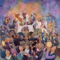 """Hachnasat Sefer Torah"" by chanahelen"
