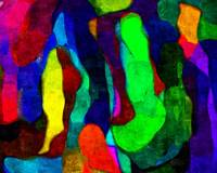 Layers of Color Abstract