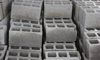 Concrete Blocks at a Construction Site