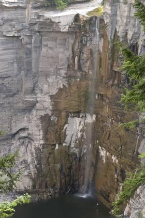 Taughannock Falls at Low Flow