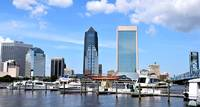 Jacksonville Skyline with Boats 00378