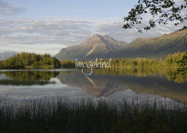 Reflections Lake Pioneer Peak