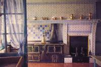Claude Monets Kitchen in Giverny