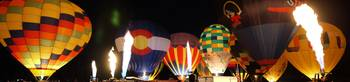 Balloon Glow Panorama