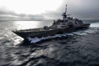The littoral combat ship USS Freedom, US Navy