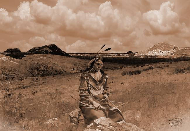 Reflections of a Sioux Brave