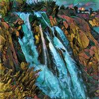 Anatolian waterfall