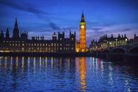 Big Ben and Houses of Parliament at night