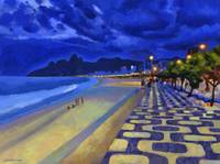 Blue Dusk Ipanema