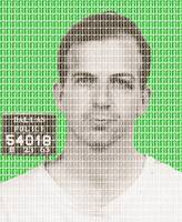 Lee Harvey Oswald Mug Shot - Green