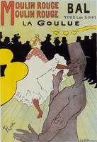 Poster le Moulin Rouge la Goulue Toulouse Lautrec