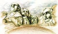Mount Rushmore - Fine Art Painting