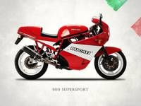 Ducati 900 Supersport 1990