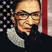 """Ruth Bader Ginsburg"" by taylansoyturk"