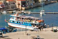 Nikos Express ferry, Halki