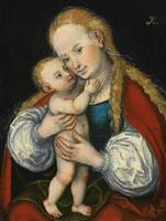 Lucas Cranach the Elder MADONNA AND CHILD