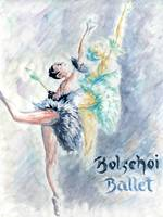 Ballet Dancers - Watercolor Painting